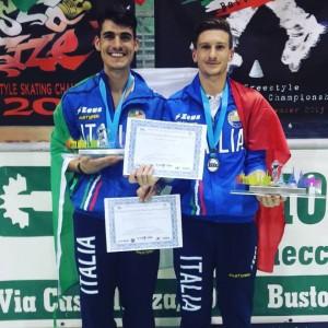 Andrea Rotunno e Nicholas Quiriconi 2015
