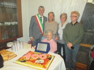 Rosolina Bernacchi 100 anni 2