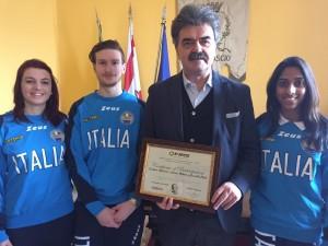 Marchetti, Cristina e Andrea Rotunno, Gomathi Berti  9-1-16