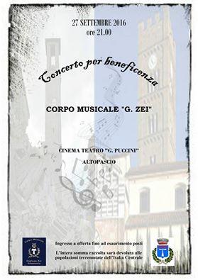 Concerto 27 ottobre 2016
