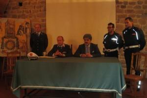 Conferenza stampa arresto Polizia Municipale