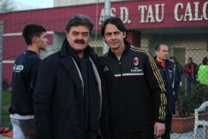Inzaghi e Marchetti torneo Viareggio 2014