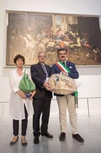 Marchetti con il pane a Milano Refettorio Ambrosiano  16-6-15